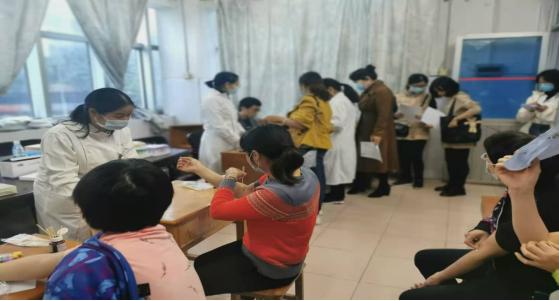 附属医院顺利开展韶关学院医学院2020年度教职工体检工作